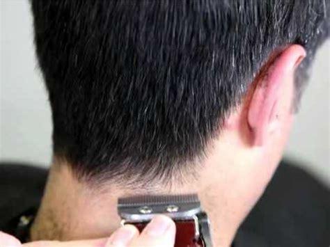 mens clipper cutting learn cut blend mens hair