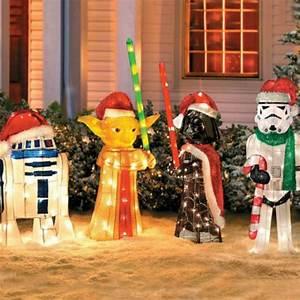 Star, Wars, Lawn, Ornaments