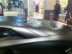 The Dark Knight Rises Exhibition and Lamborghini Aventador ...