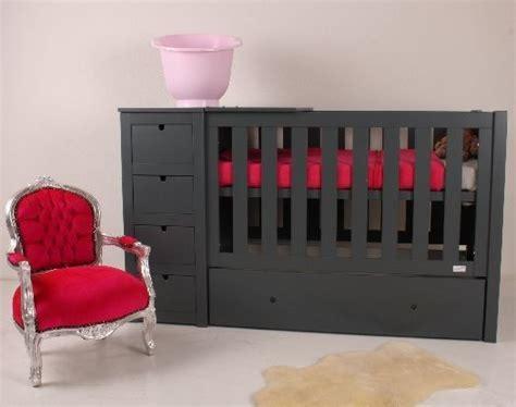 ledikant en commode in 1 ledikant commode in 1 meubel anthracite baby s