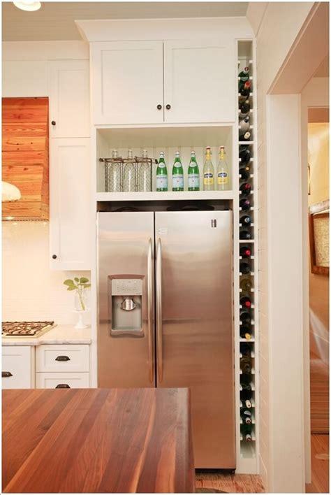 clever vertical storage ideas   kitchen