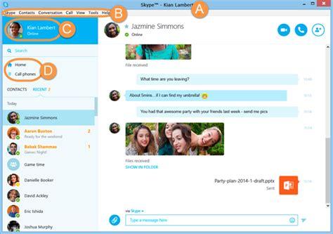 skype bureau windows comment me familiariser avec skype pour windows