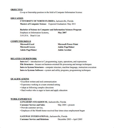 sle hvac resume template 6 free documents
