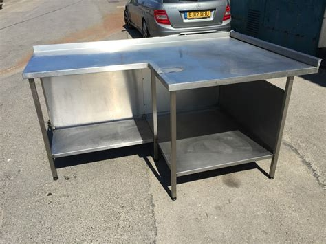 stainless steel table l used stainless steel tables used stainless steel work