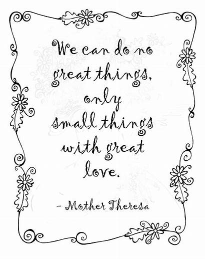 Quotes Motivational Mother February Inspirational Sayings Theresa