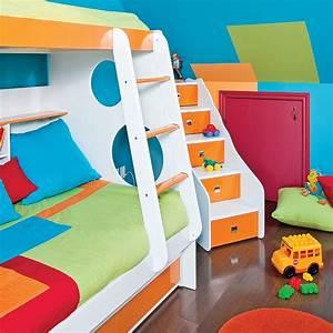 Festival des couleurs pour la chambre d39enfant chambre for Couleur pour chambre d enfant