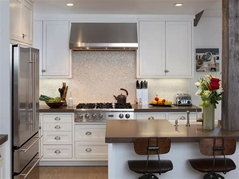 pictures of kitchens with backsplash easy kitchen backsplash ideas pictures tips from hgtv