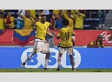 Colombia Uruguay 22 Resumen, resultado y goles