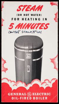 steam  hot water  heating   minutes general