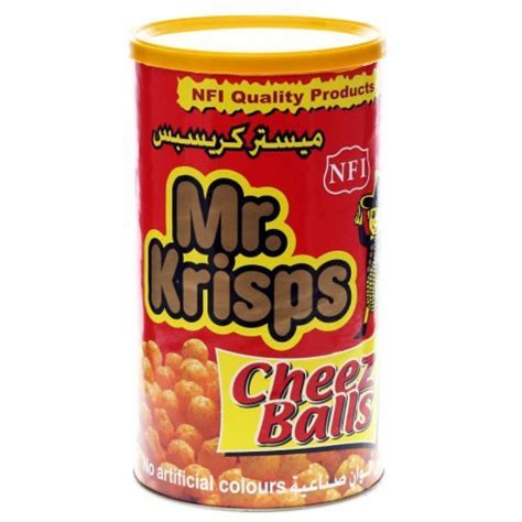 NFI Mr. Crisps Cheese Balls in Can from SuperMart.ae