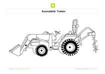 Traktor (4) · traktor (5) · traktor (6). Ausmalbilder Transporter - Kostenlose Ausmalbilder