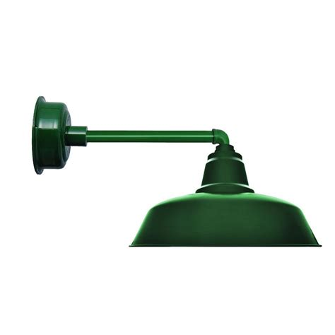 cocoweb 12 inch goodyear vintage green led wall mounted