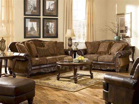 ashley furniture leather living room sets decor ideas