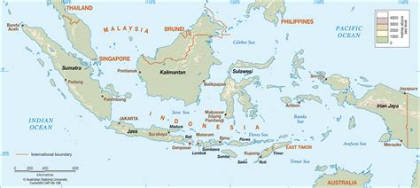 indonesia cartogis services maps  anu