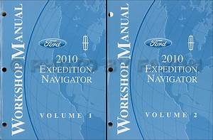 2001 Ford Expedition Navigator Service Shop Manual Set Two Volume Setand The Wiring Diagrams Manual