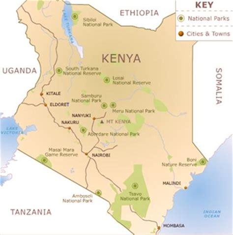 maps map kenya