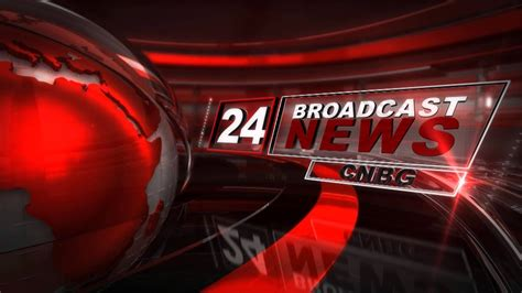 24 news broadcast template - YouTube