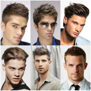 model rambut pria sesuai bentuk wajah  postur tubuh