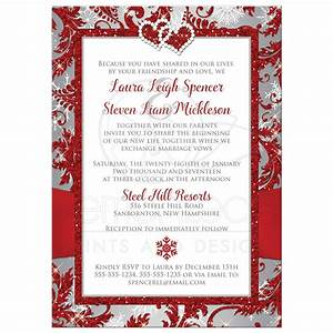 red and silver invitations wwwpixsharkcom images With wedding invitation backing paper