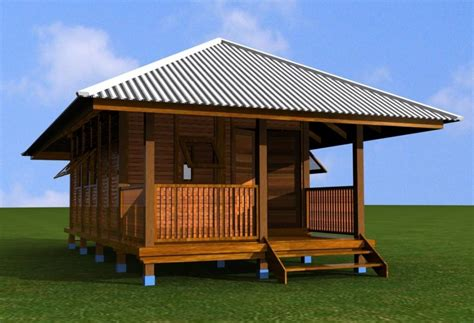desain rumah kayu minimalis modern