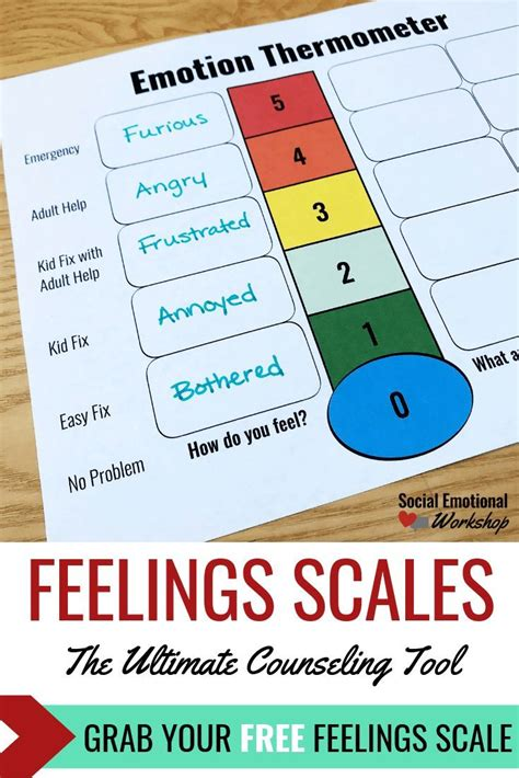 feelings thermometer   ultimate counseling tool