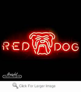 Red Dog Logo Neon Beer Sign only $299 99 Signs R