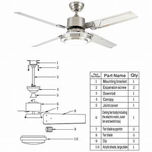 Installation Instructions For Ceiling Fans Light  U2013 Ceiling