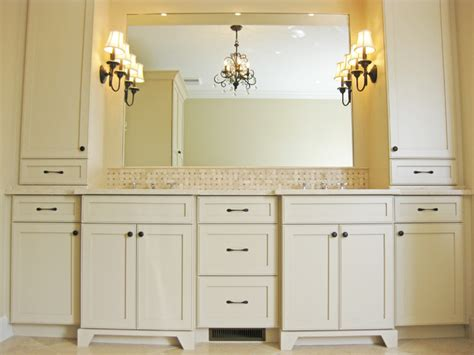 master bathroom double vanity  towers traditional