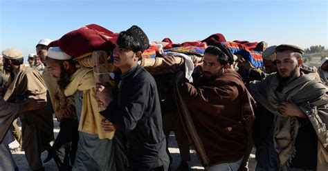afghanistan  coalition airstrikes civilian death toll