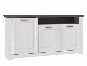 Sideboard Weiß Grau : sideboard gaston 6 weiss grau 180x93 cm schneeeiche anrichte kommode wohnbereiche esszimmer ~ Orissabook.com Haus und Dekorationen