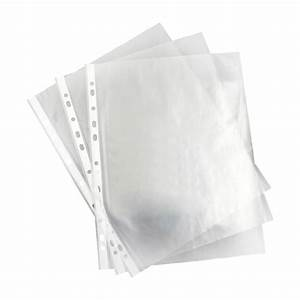 a4 clear plastic punched pockets folders filing wallets With clear plastic sleeves for documents