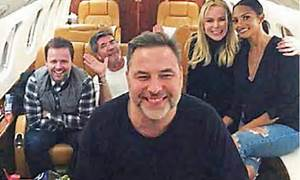Celebrities turn London into private jet capital of Europe ...