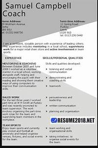 Resume Template Guide For 2018 Gt Latest Updates Resume 2018