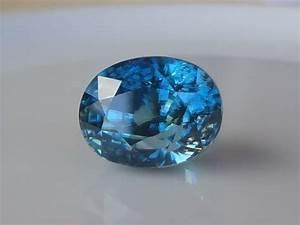 Beautiful And Elegant Natural Blue Zircon