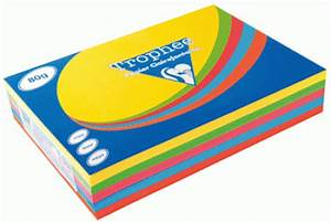 Ramette Papier Couleurs A4 80g Coloris Assortis Intenses