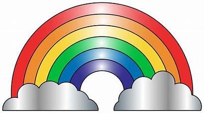 Rainbow Clipart Clip Colorful Clipartandscrap Fans Number