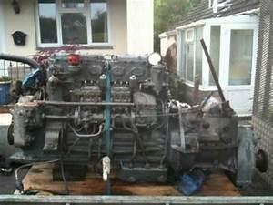 Gardner 6lx Marine Diesel Engine With 2uc Gearbox Test Run