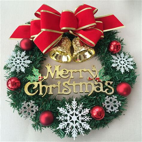 large outdoor christmas decorations christmas wreath wreaker christmas decoration supplies with