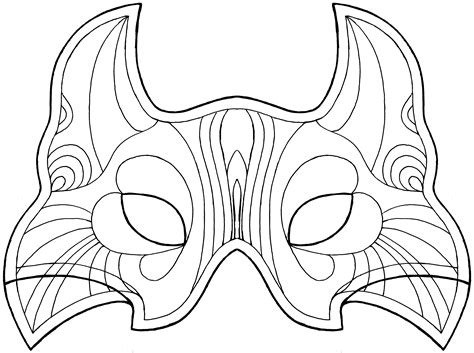 images  face mask patterns printable butterfly