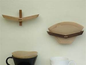Wooden Coffee Filter Holder  U2013 Spoon  U0026 Tamago