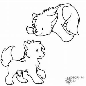 Puppy Lineart Psd By Sketch40 On Deviantart