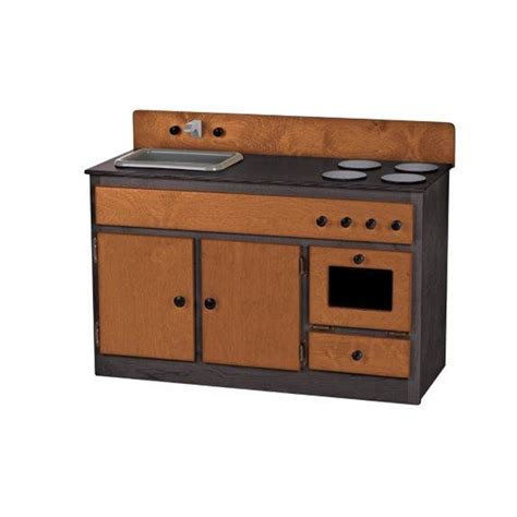 sink and stove combo children 39 s real wood play kitchen sink stove combo