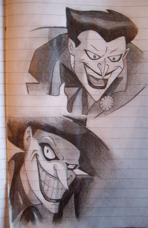 joker cartoon  astartte  deviantart