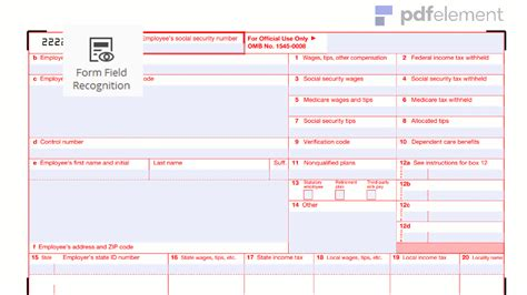irs w 2 form free download create edit fill and print