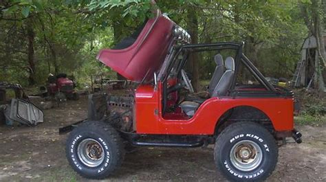 find   jeep cj  fiberglass tub  front
