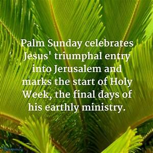 Palm Sunday Celebrates Jesus Pictures, Photos, and Images ...