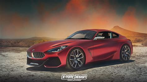 Bmw Z4 Concept Already Rendered As A Coupe, Looks Stunning