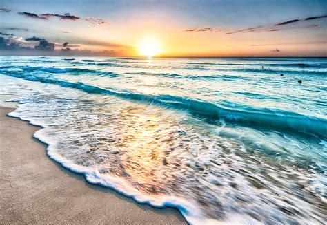 Sheen Sand On The Cancun Beach, Mexico Traveldiggcom