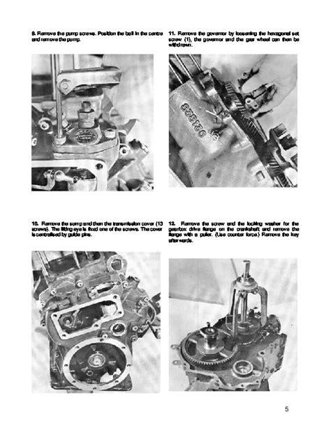 volvo penta mda marine diesel engine workshop manual