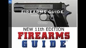 New Firearms Guide 11th Edition Published With 15 198 Gun